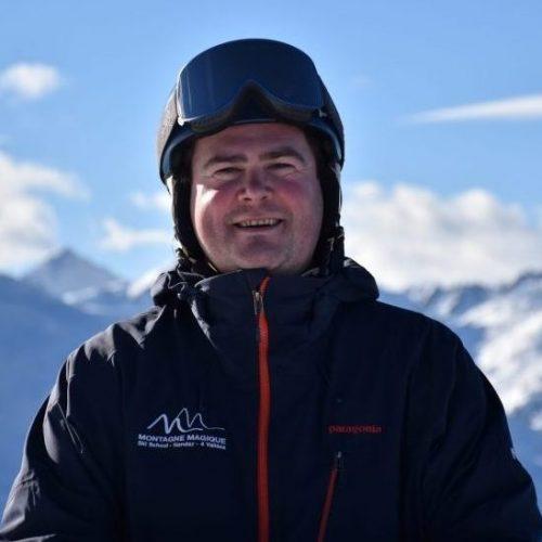 Ski instructors Nendaz